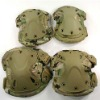 Multicam military camouflage camo Unisex Motocycle Tactical Military SWAT Protective Knee and Elbow Pads paintball