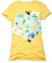 Custom Womens Cotton Brand Washed Tshirts