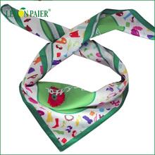 Digital Printed 100% Polyester Fashionable Scarf