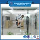Custom kids cartoon sticker printing,car window sticker.static cling sticker