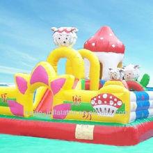 Cheap Kids Inflatable Amusement Park Customized Giant Inflatable Amusement Park Inflatable Fun City for Sale