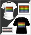Ton reagieren el dame tier t- shirt/el dame tier t- shirt/el panel für t- shirt