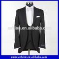 Mw-066 mais recente projeto black men suit para o casamento pant ternos formais para casamentos