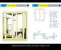 Cuadros verdaderos de ventanas de aluminio y puertas de dibujo para perfiles de aluminio