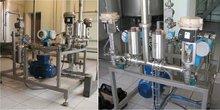 Automatic vodka mixing unit