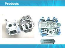 Aluminium alloy diesel engine cylinder cover die pressing casting