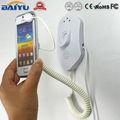 Anti- alarme de roubo de parede slatwall telefone celular titular mostrar segurança