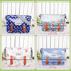 Good Quality Floral Flowers Polka Dot Oilcloth Tote Bag