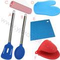 Ss1770 alta calidad grado de seguridad alimentaria utensilios de cocina de silicona