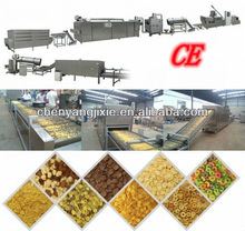 Fully Automatic corn chips/breakfast cereal puff making machine/production line/extruder with CE 86-15553158922