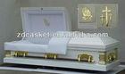 Cheap burial metal casket(ZD-5001)