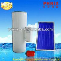 Pressurized heat heat pipe solar panel