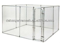 big galvanized and powder coated dog cages/ dog kennels