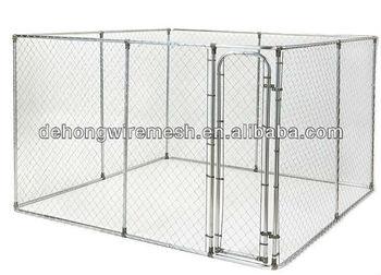 big galvanized and powder coated dog cages/ dog kennels