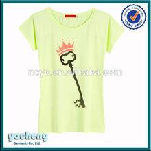 Manufactory woman's t-shirt, fashion woman's tshirt korea wholesale t-shirt