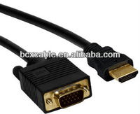 Different Length HDMI to VGA Male to Male Cable Converter Computer Cable