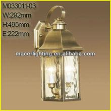 European high quality brass wall light outdoor 2014