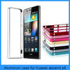 New Arrival 0.7mm Slim Aluminum bumper Metal Cover For HuaWei Ascend P6 Case