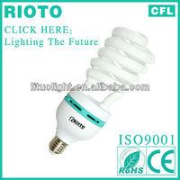 China supplier spiral 40w cfl e27 energy saving lamps/220v fluorescent light bulb