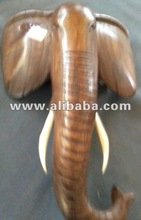 Hand Carved African Animal Mask