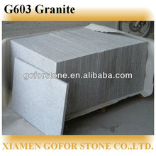 Chinese cheap g603 granite flamed brushed