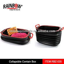 RBZ-035 plastic handles pp corrugated boxes
