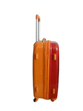 president luggage 2014 hot selling super light ABS+PC film luggage bag