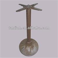 Antique design brass leg for sales cast iron table leg for dining furniture part antique coffee leg