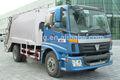 Foton auman 4*2 12 cbm ordures compacteur camion, la collecte des déchets camion compresseur