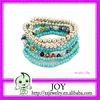Fashion Long Beaded Bracelet,Elastic Beads Bracelet,Beads String Bracelet