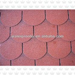 Roofing Asphalt Red 3-Tab Shingle