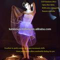 fibre optique sur mesure robe de danse latine