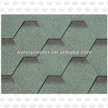 Hexagonal Asphalts Roof Shingle Manufacturer