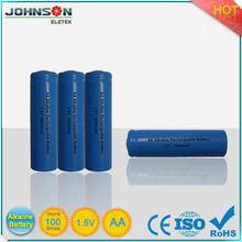 aa 1.5v rechargeable alkaline batteries