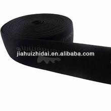 jacquard elastic webbing with logo