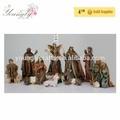 """12"""" natal natividade conjunto de resina figurinhas grande 11/s live tamanho estilo"""