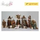 "12"" Christmas Resin Nativity Set Large Figurines 11/S Live Size Style"