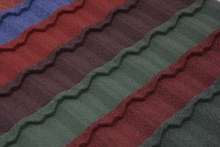New Design Building Material-Stone Coated Metal Roof Tile