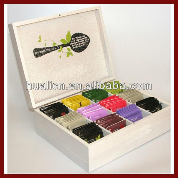 Custom Luxury Wooden Tea Chest