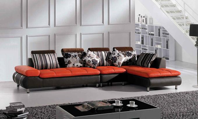 Sala De Estar Pequena Apartamento Sofa De Canto ~ Sofa Modern Design Sexy Leather Sofa Dining Chair Livingroom Sofa