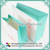 Apparel paper bags/packaging bags printing