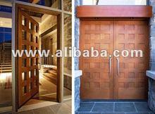 KD Solid Wood Panel Door