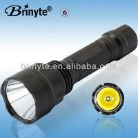 B88 XML U2 Waterproof Aluminum LED Power Style Flashlight