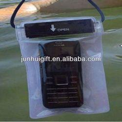 Cheap customize advertising gift waterproof mobile phone bag