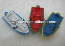 mini plastic ship toys for kids