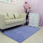 water absorbent chenille carpet/mat/chenille rug