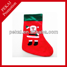 2015 Green mouth applique Christmas stockings