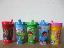 children drinking cup