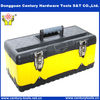 heavy duty briefcase tool box with 2 levels