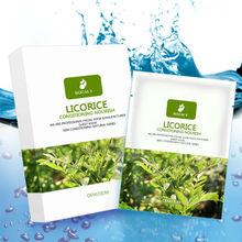 100% Pure Plant Facial Mask-Liquorice